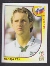 Panini - Korea Japan 2002 World Cup - # 129 Nastja Ceh - Slovenija