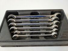 Snap On 6pc Double Flare Nut Metric Wrench Set Rxfms606b