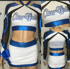 Cheerleading Uniform Allstar Cheer World Adult xs