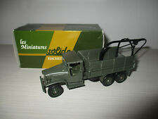 CAMION GMC 6X6 US N°23 SOLIDO SCALA 1:50