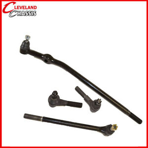 4 Pc Steering Kit Ford Bronco II Ranger Center Link Tie Rod 89-97 2WD B3000