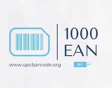 1000 EAN Numbers Barcodes Bar Code Gs1 UPC Amazon Lifetime Guarantee 2