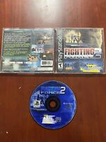 Fighting Force 2 (Sony PlayStation 1, 1999) PS1 Complete Game - TESTED WORKS!!!