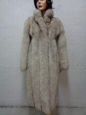 MINT NORWEGIAN BLUE FOX FUR COAT JACKET WOMEN WOMAN SIZE 4-6 SMALL
