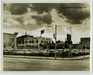Odd Commercial 1959 Bunny Yeager Photograph Miami Buick Automotive Dealership