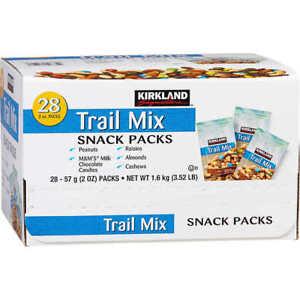 Kirkland TRAIL MIX snack packs (28 packs)