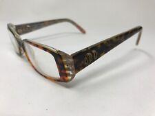 f0f8abeeccb0 MIU MIU Designer Eyeglasses VMU16F ZWQ-1O1 51-15-135 Polished Tortoise UP39