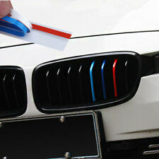 For BMW Kidney Grill M Sport Color Stripes Sticker Decal M3 M5 M6 1 3 4 5 Series