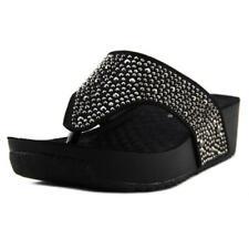 Sandalias y chanclas de mujer Spring Step de tacón medio (2,5-7,5 cm) de color principal negro