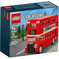 Lego 40220 Creator Double Decker London Bus Brand new