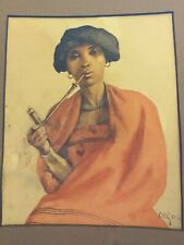 Original watercolour Artwork By Constance Helen Greaves 1882 - 1966 south africa