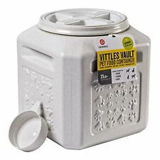 NEW Gamma2 Vittles Vault Plus 25 lb Pet Food Storage Container