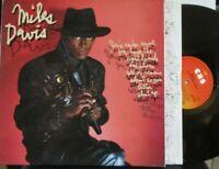 MILES DAVIS ~ Youre Under Arrest ~ GATEFOLD VINYL LP DUTCH PRESS
