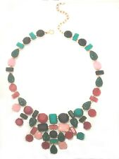 TALBOT'S FROSTED AND TEXTURED NECKLACE-NEW WITH TAG-SRP $89.50