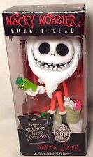 SANTA JACK Wacky Wobbler Bobble-Head Nightmare Before Christmas NIB Disney