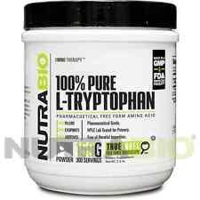 NutraBio L-Tryptophan Powder *Sleep Aid* 150 Grams - 100% Pure & Kosher