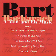 BURT BACHARACH A Man And His Music CD BRAND NEW