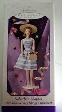 Hallmark Keepsake Barbie Ornament Suburban Shopper Midge box 1998