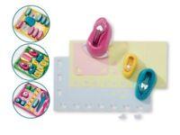 CRELANDO Craft Paper or Border Punch Set Kids' Paper Hole Punch