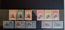 Azores Portugal 1926 1st Independence Issue – partial set.
