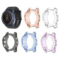 TPU Transparent Protector Protective Case Cover Frame for Garmin Fenix 5X Watch