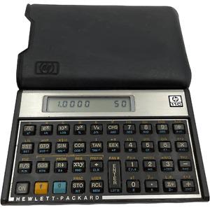 VTG Hewlett Packard HP 11C Programmable Scientific Calculator With Case Tested