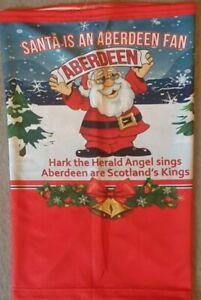 ABERDEEN FC SANTA SNOOD / FACE MASK merry Christmas present ho ho ho scotland