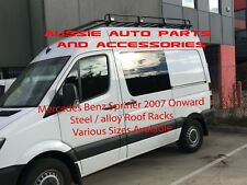 MERCEDES BENZ SPRINTER SWB Tradesman style open Ends Alloy Roof Rack 2700mm 07on