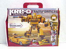 KRE-O Transformers Bumblebee Construction Set Car Or Robot 3 Kreons Included