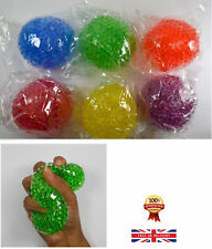 ❤️Squishy Mesh Ball Squeeze Anti Stress Reliever Kids Child Toy Gift Party 7cm💙