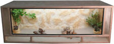 OSB - Holz Terrarium - Front aus massiven Fichtenhholzrahmen - 100x50x50cm