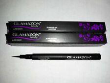 New Lot of 3 Glamazon Beauty Flawless Gel Eyeliner Pen ~ Black