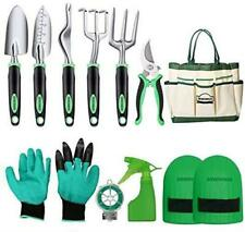Dewinner Garden Tool Set, Hand Tool Gift Kit, Out Door Gardening Transplanting