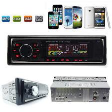 Auto Car Stereo Audio In-Dash SD USB MP3 WMA Radio Player Aux FM Input Receiver