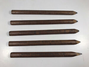 American Pencil Co 736 Lot of 5 Vintage Pencil Rulers