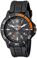 Timex Men's Expedition Uplander Anaog Quartz Indiglo Black Resin Watch T499409J
