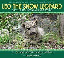 Leo the Snow Leopard-ExLibrary