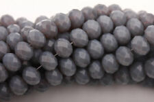 Hot Sale Czech Crystal Glass Faceted Rondelle Beads Charm Finding 4/6/8/10mm
