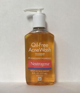 Neutrogena Oil Free Acne Wash W/ Microclear Technology-6oz.