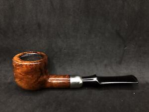 irish estate Peterson: Irish Made Army (608) Fishtail smooth straight pot pipe