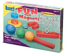 Fun With Magnets Kids Learning Educational Set Experiment Magnetic Science New
