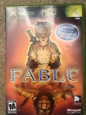 XBOX Fable Limited Edition Complete Perfect Game CIB