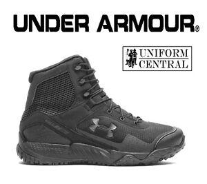 NEW STYLE Under Armour UA Men's Black VALSETZ RTS 1.5 Tactical Boots 3021034 001