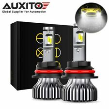 2x AUXITO 9007 HB5 LED Headlight High Low Beam Bulb Kit Super Bright High Power