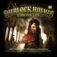 SHERLOCK HOLMES CHRONICLES - DER VERBRAUCHTE TALISMAN FOLGE 50  2 CD NEU