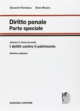 Diritto penale. Parte speciale. Vol. 2-2 - Fiandaca Giovanni, Musco Enzo