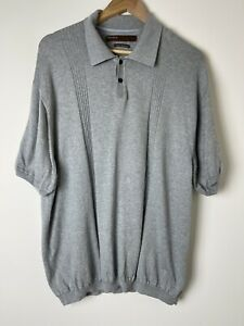 Perry Ellis Mens Bamboo/Cotton Blend Knit XXL. Like New