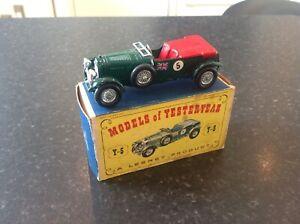 Matchbox , mint boxed , lesney Bentley,