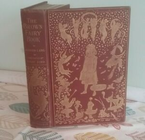 The Brown Fairy Book by Andrew Lang 1904 1st Edition Vintage Hardback