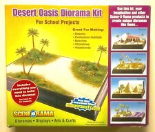 Woodland Scenics Scene-A-Rama Desert Oasis Diorama Kit, Partial Kit